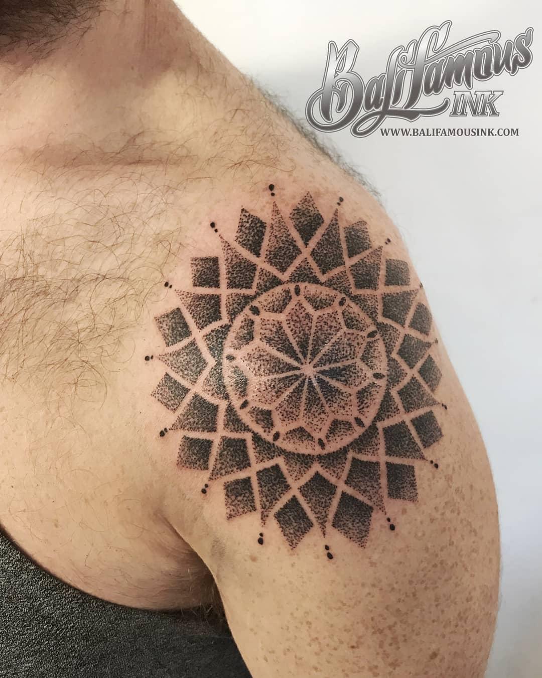 kuta tattoo bali mandala tattoo