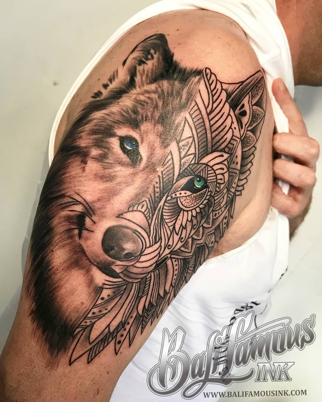 wolf-mandala-tattoo-artist-best-bali-kuta-tattoo